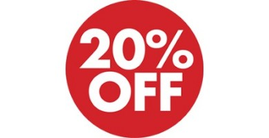 !!! SALE !!! 20%